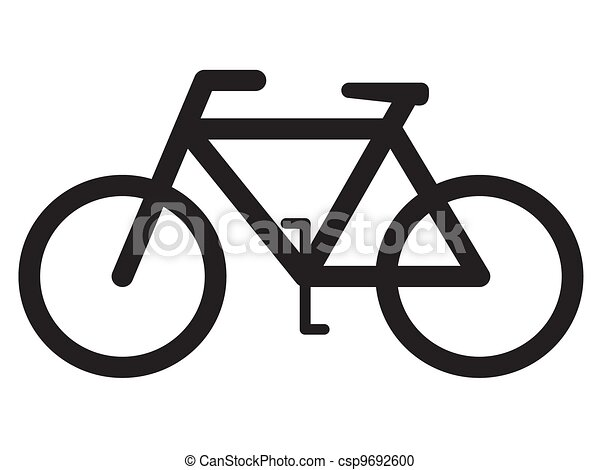 bicycle silhouette - csp9692600