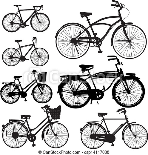 Bicycle Vector - csp14117038