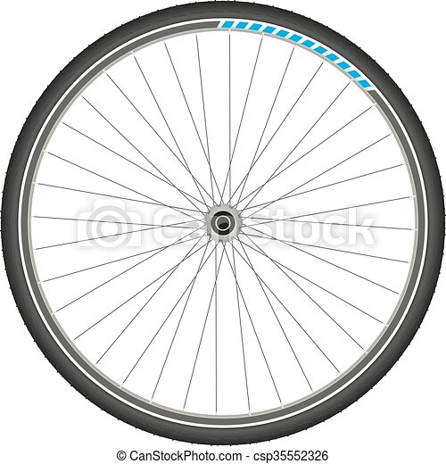 bicycle whee - csp35552326