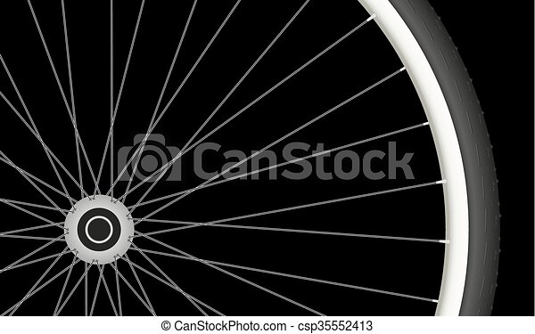 bicycle whee - csp35552413