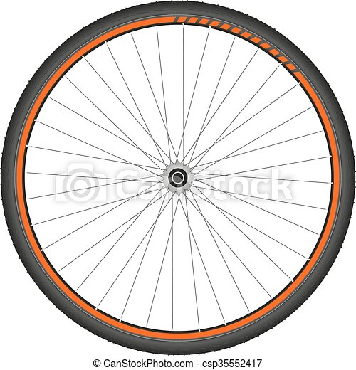bicycle whee - csp35552417