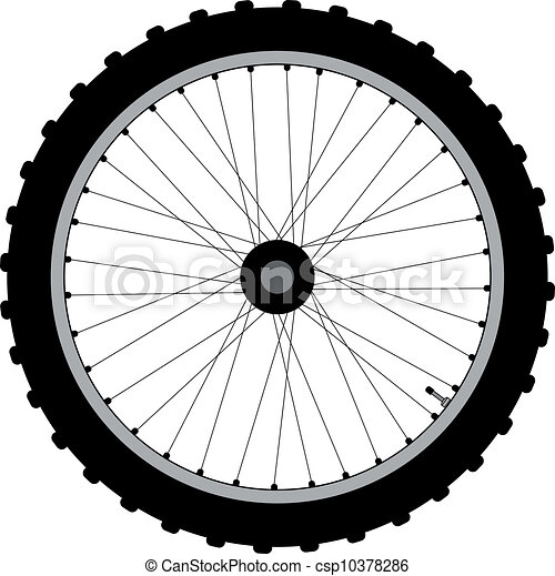Bicycle Wheel. - csp10378286