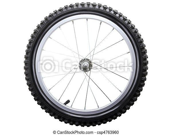 Bicycle wheel - csp4763960