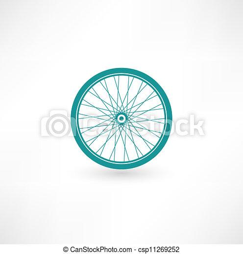 Bicycle Wheel Symbol - csp11269252