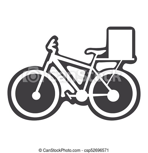 Bicycle with box - csp52696571