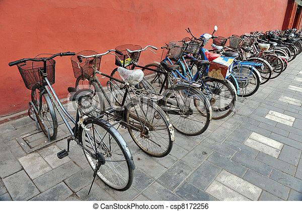 Bicicletas, porcelana china - csp8172256