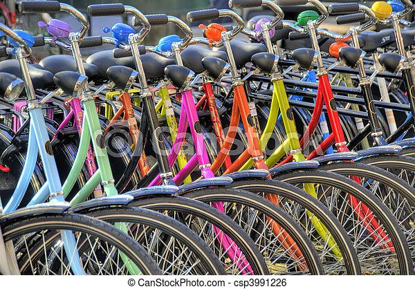 bicycles hdr - csp3991226