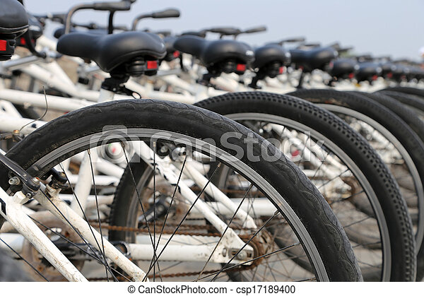 bicycles, rang - csp17189400