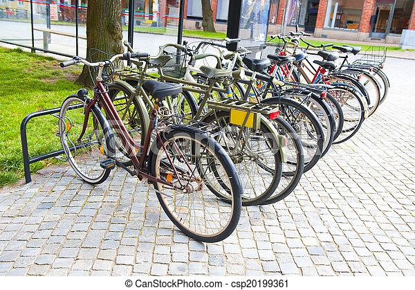 Bicycles - csp20199361