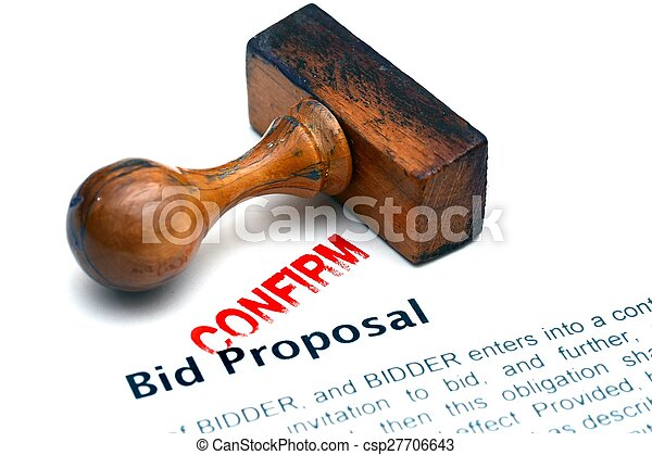 Bid proposal - csp27706643