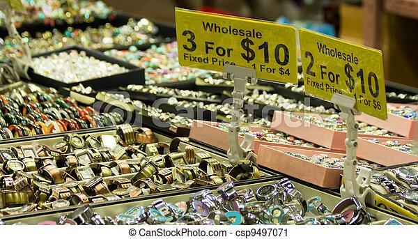 Mercadería china - csp9497071