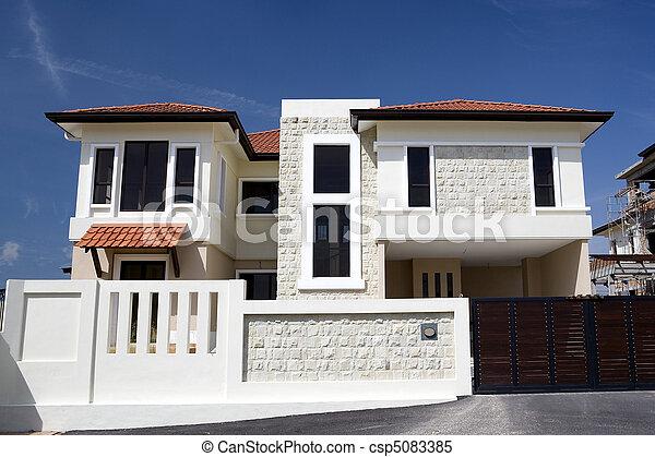 Bienes raíces - csp5083385