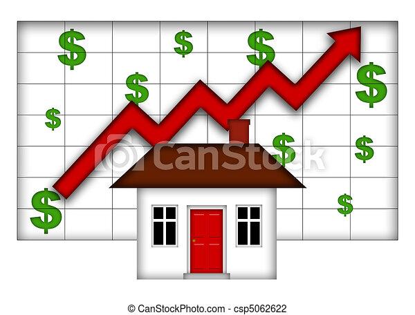 Los valores inmobiliarios aumentan - csp5062622