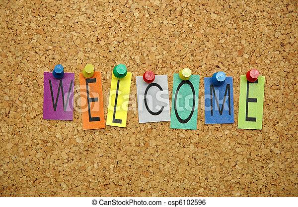 Bienvenido - csp6102596