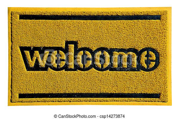 Bienvenido - csp14273874