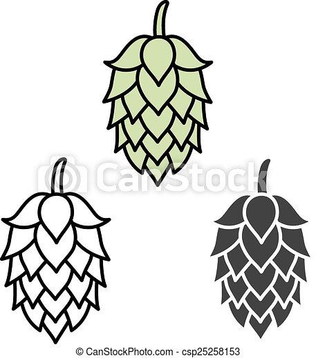 bier zeichen symbol hopfen etikett symbol zeichen clipart vektor suche illustration. Black Bedroom Furniture Sets. Home Design Ideas