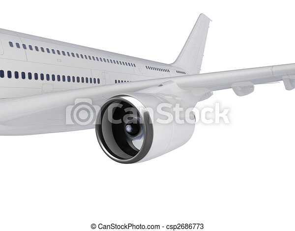 Big Airplane - csp2686773