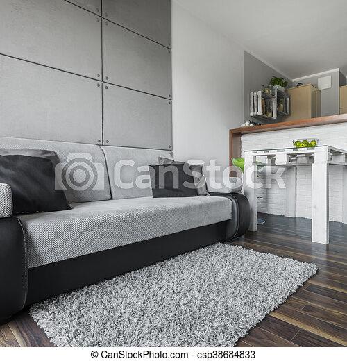 Big and cozy sofa