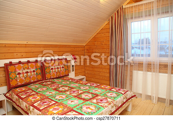 big bed - csp27870711