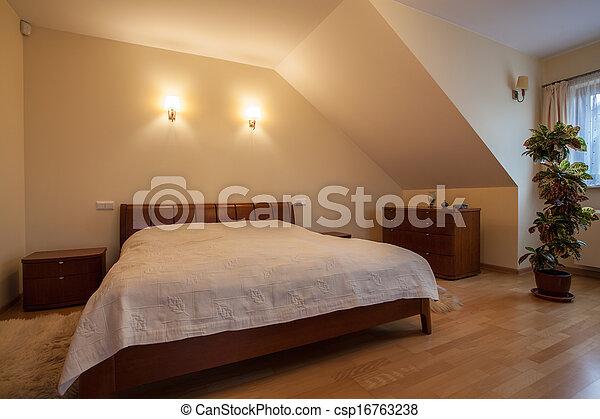 Big bed - csp16763238