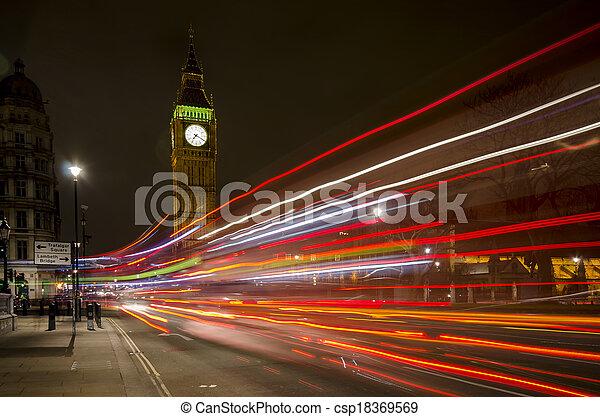 Big Ben at night - csp18369569