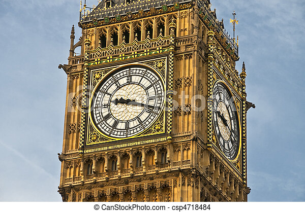 Big Ben clock - csp4718484