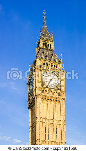 Big Ben Clock Tower - csp34631566