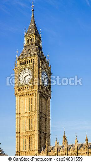 Big Ben Clock Tower - csp34631559