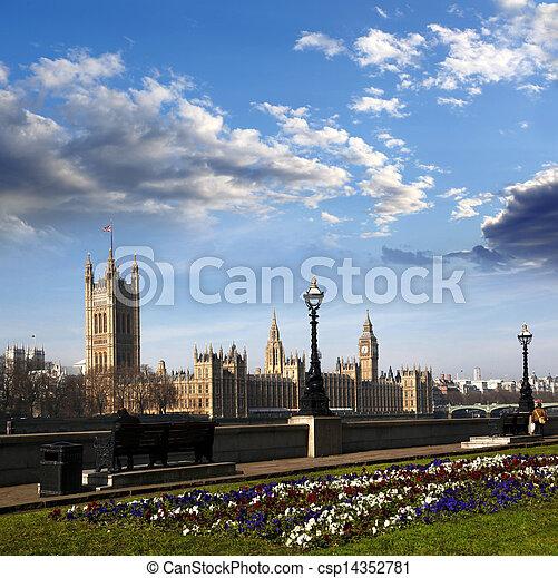 Big Ben in London, England - csp14352781