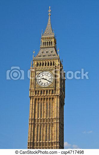 Big Ben in London - csp4717498