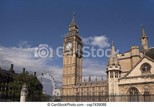Big Ben in London - csp7439088