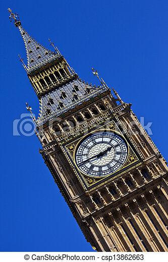 Big Ben in London - csp13862663