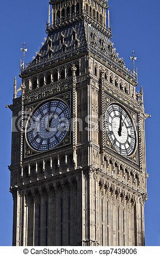 Big Ben in London - csp7439006