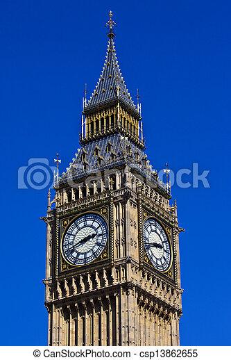 Big Ben in London - csp13862655