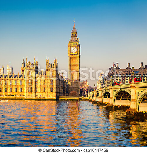 Big Ben in London - csp16447459