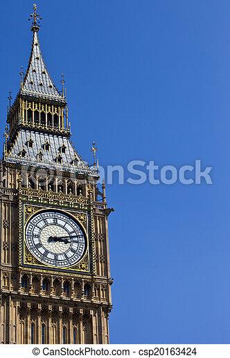 Big Ben in London - csp20163424