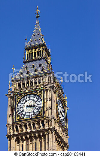 Big Ben in London - csp20163441
