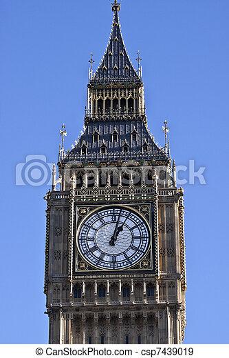 Big Ben in London - csp7439019