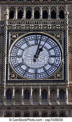 Big Ben in London - csp7439030