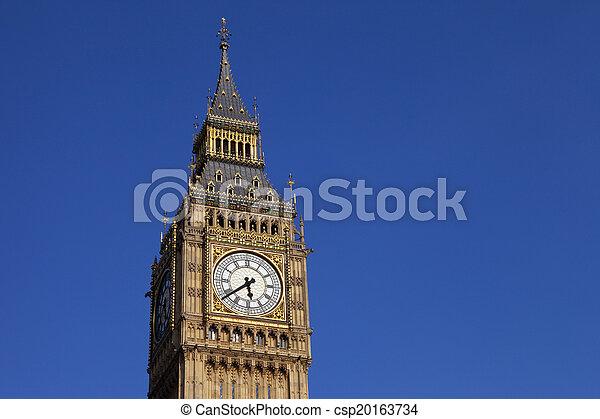 Big Ben in London - csp20163734