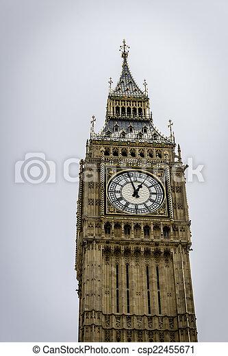 Big Ben in Westminster, London - csp22455671