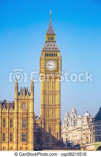 big ben, london - csp36210516