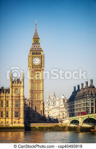 big ben, london - csp40493919