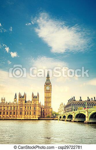 big ben, london - csp29722781