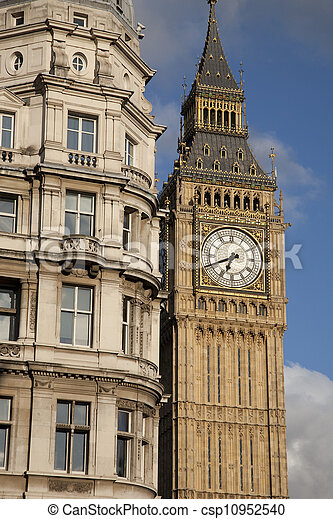 Big Ben, London, England, UK - csp10952540