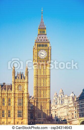 big ben, london - csp34314643