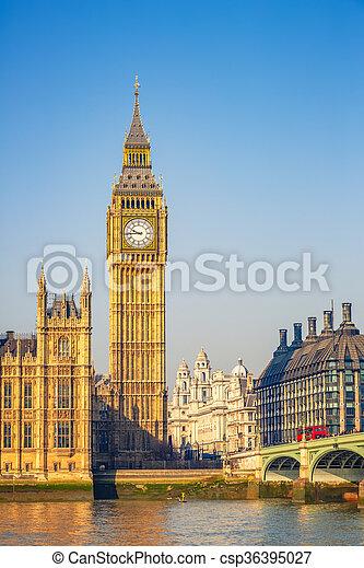 big ben, london - csp36395027
