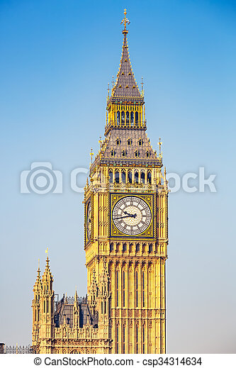 big ben, london - csp34314634