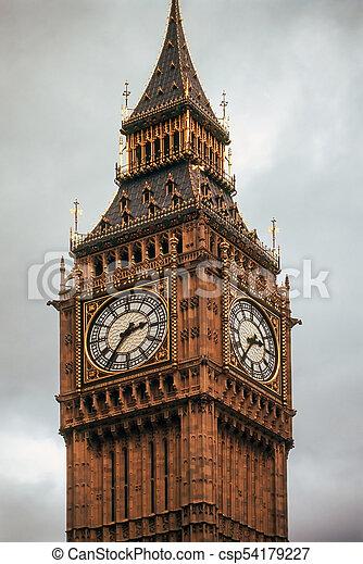Big Ben, London - csp54179227