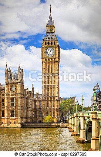 Big Ben en Londres - csp10297503